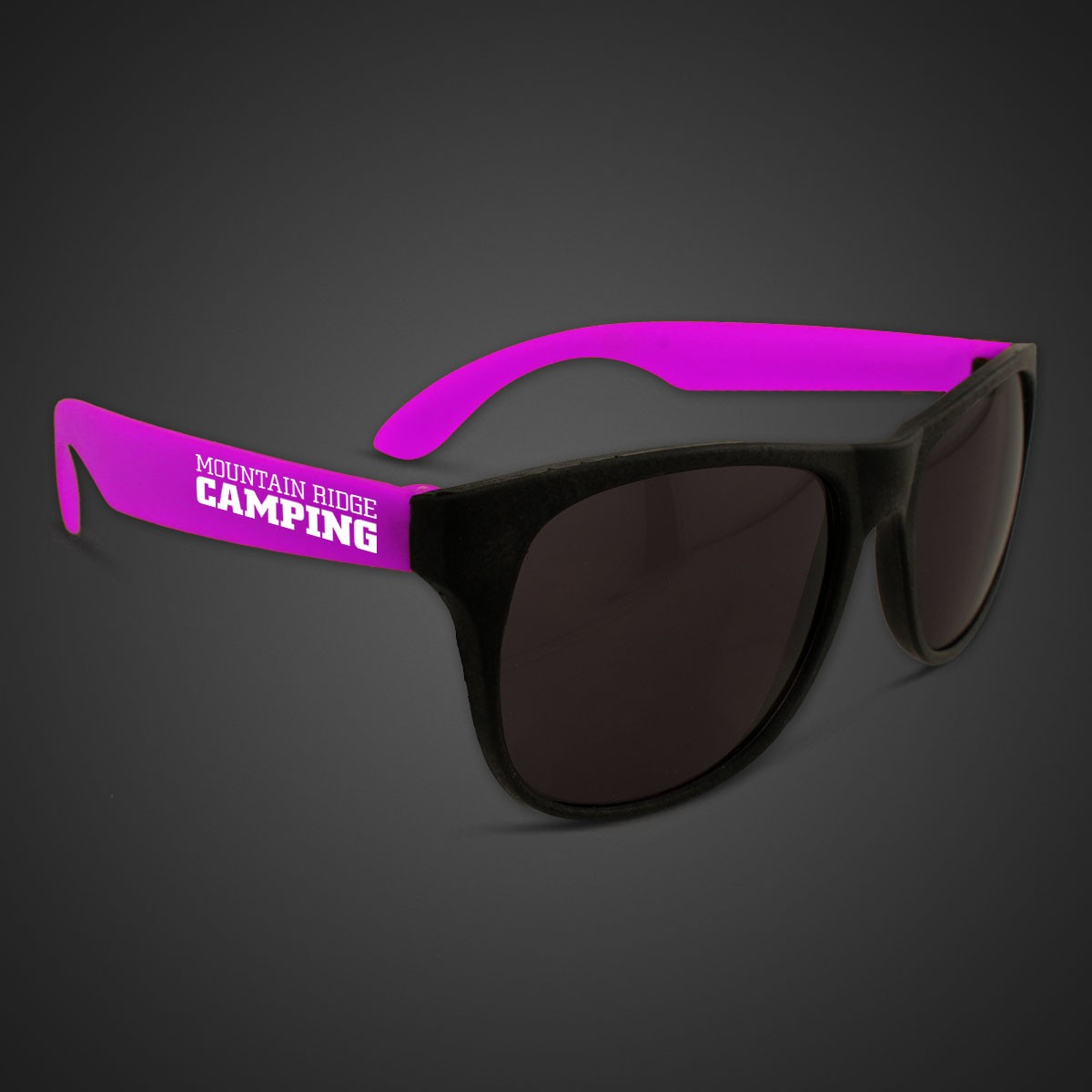NEON SUNGLASSES WPURPLE ARMS