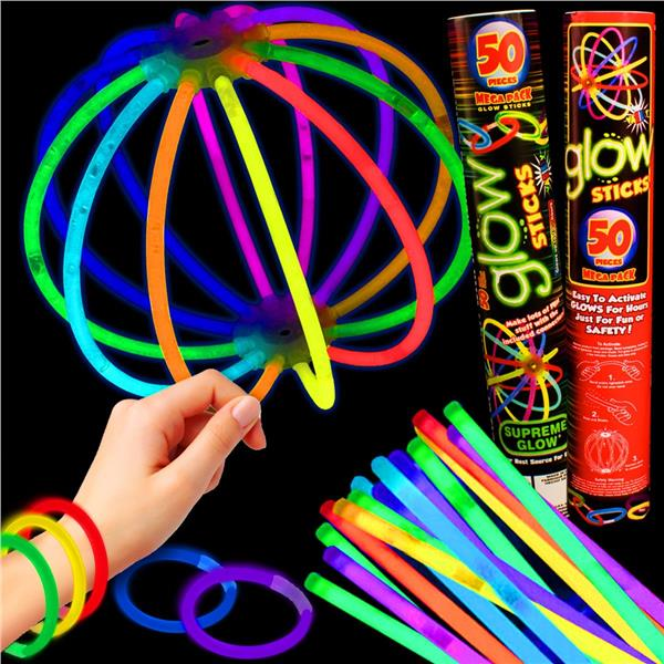 5MM GLOW BRACELET RETAIL TUBE