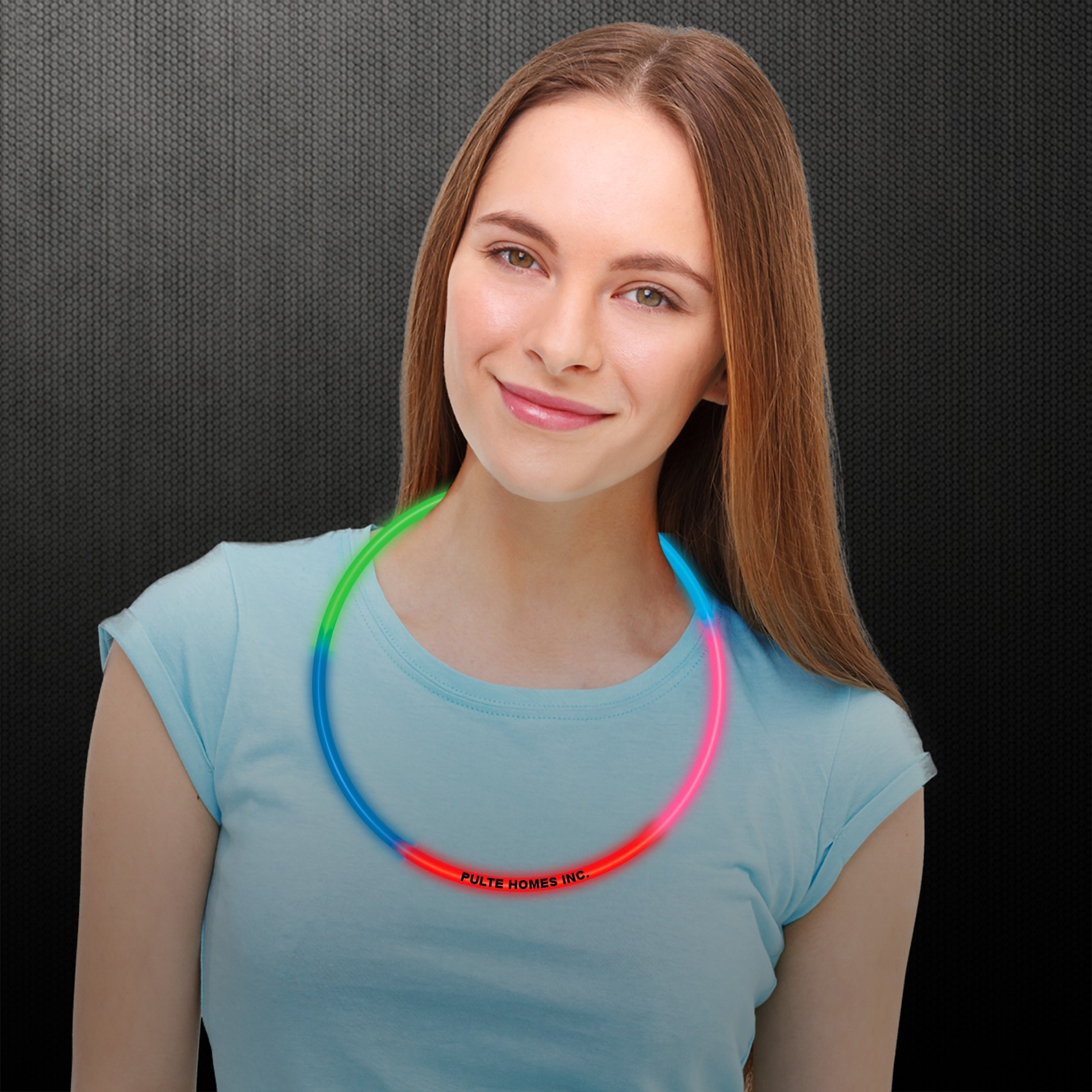 22 INCH RAINBOW GLOW NECKLACE