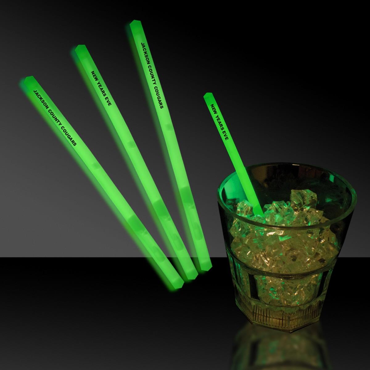 5 INCH GREEN SWIZZLE