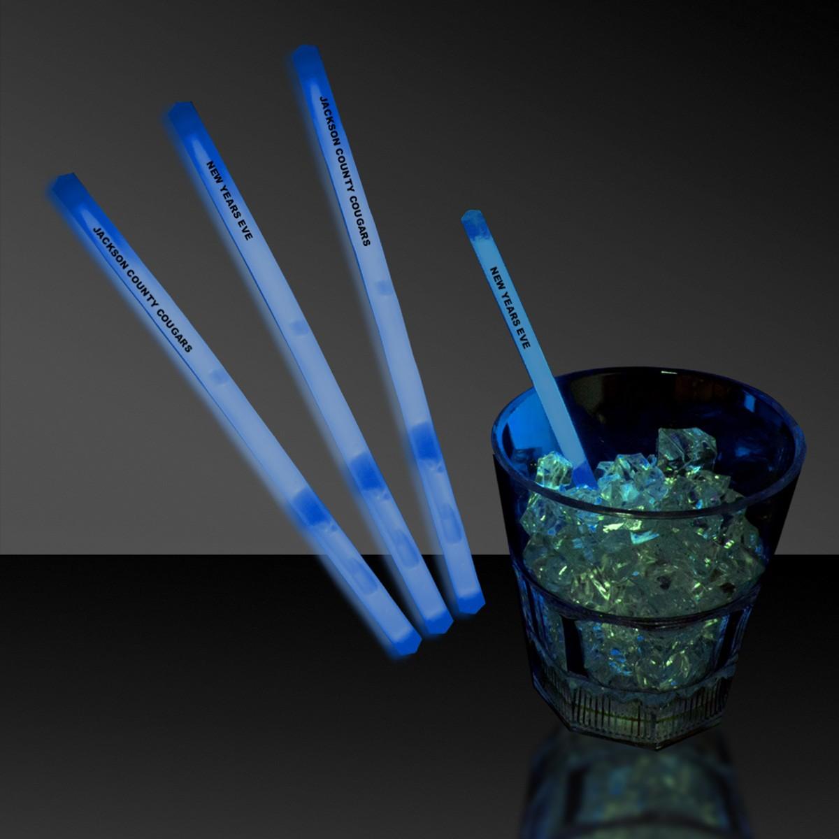 5 INCH BLUE SWIZZLE