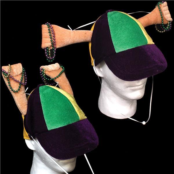 MARDI GRAS HAND CLAPPER HAT