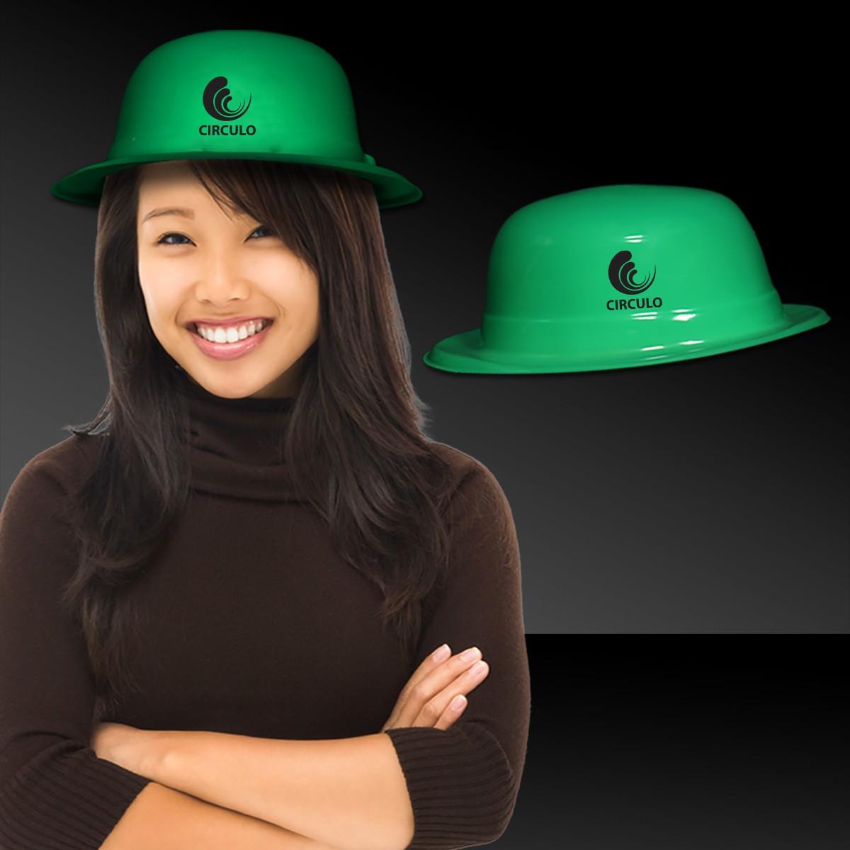 GREEN DERBY-PLASTIC
