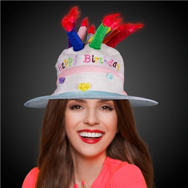 LIGHT UP HAPPY BIRTHDAY HAT