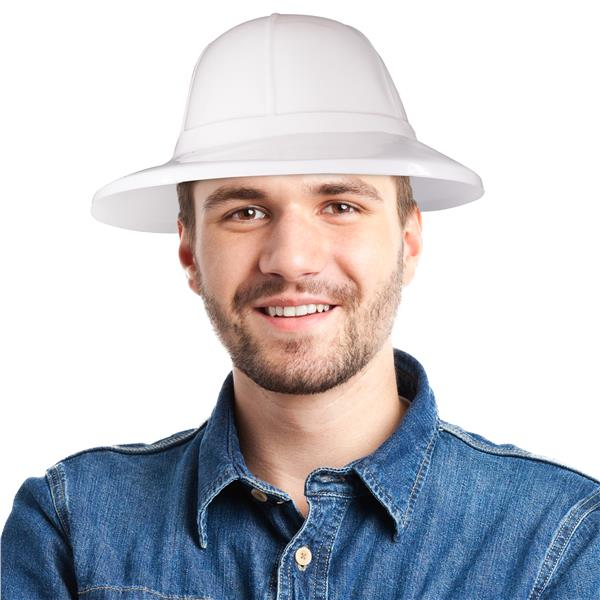 WHITE SAFARI HAT