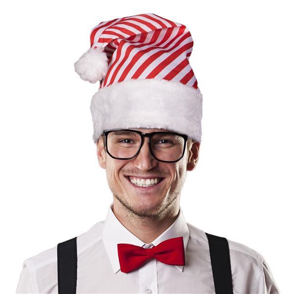 CANDYCANE STRIPED SANTA HAT