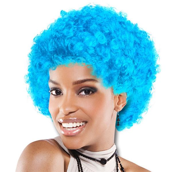 TEAM SPIRIT WIG  LIGHT BLUE