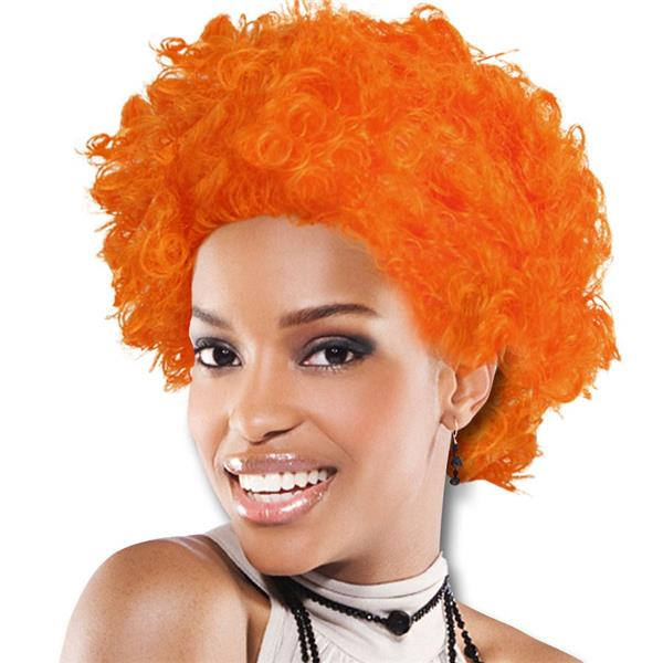 TEAM SPIRIT WIG  ORANGE