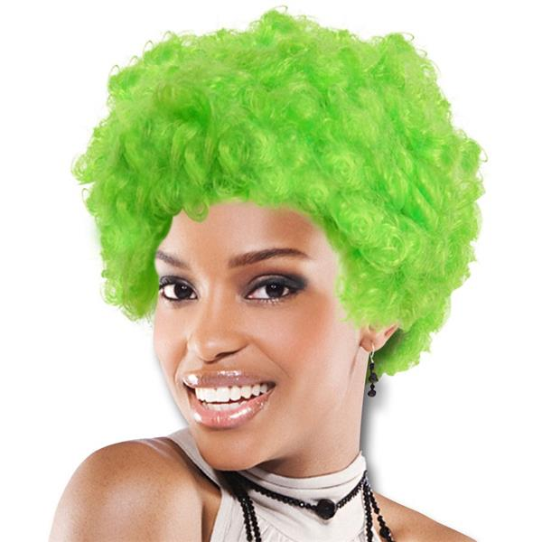 TEAM SPIRIT WIG  GREEN