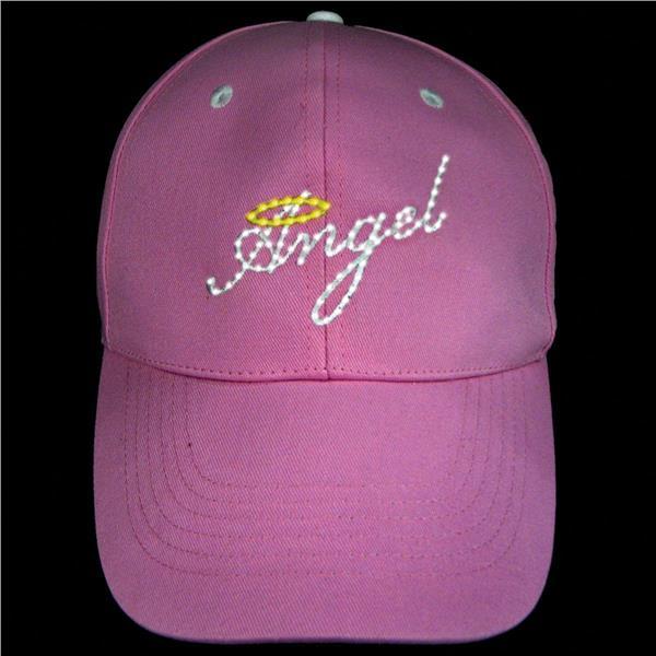 PINK ANGEL FIBER OPTIC CAP