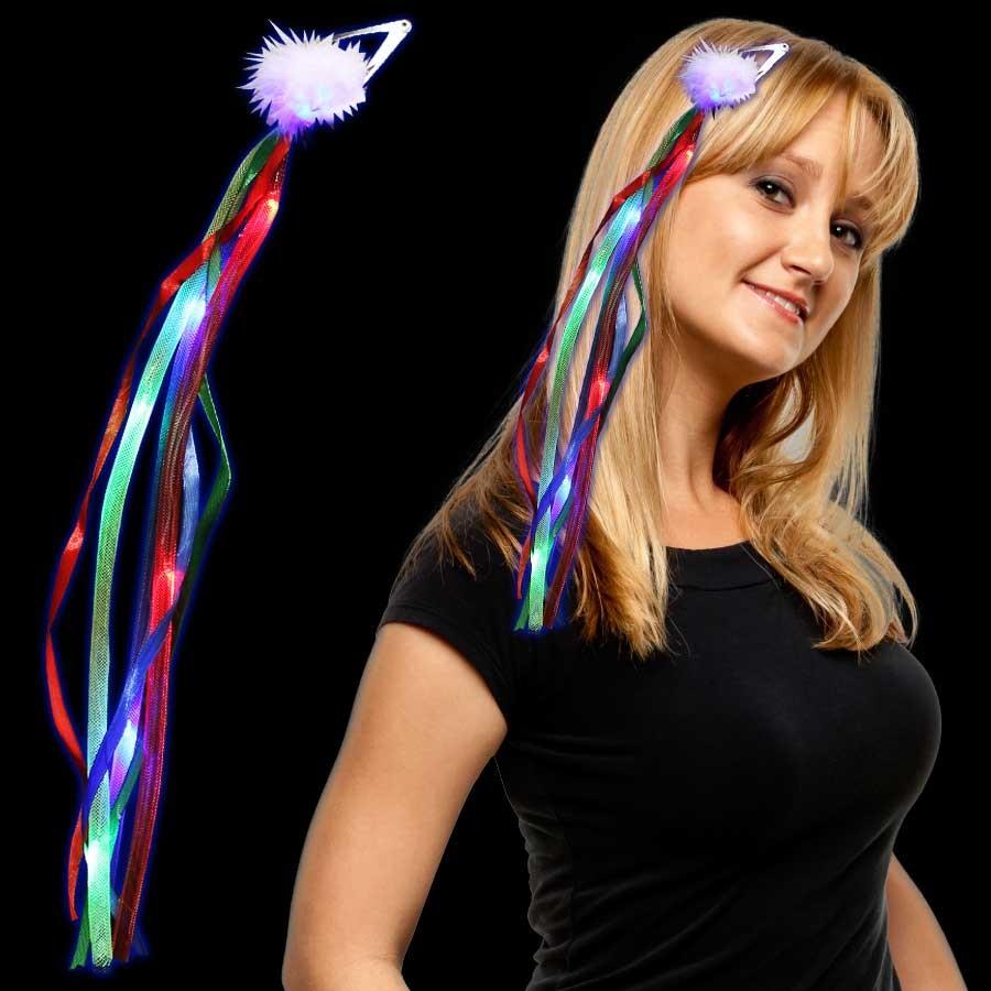 RAINBOW LU DIVA HAIR CLIP