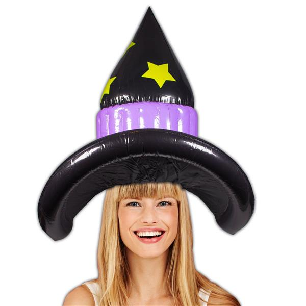 WITCH INFLATABLE HAT