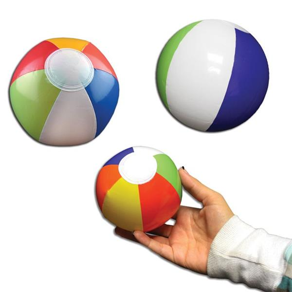 6 INCH PRIMARY COLORED BEACHBALL
