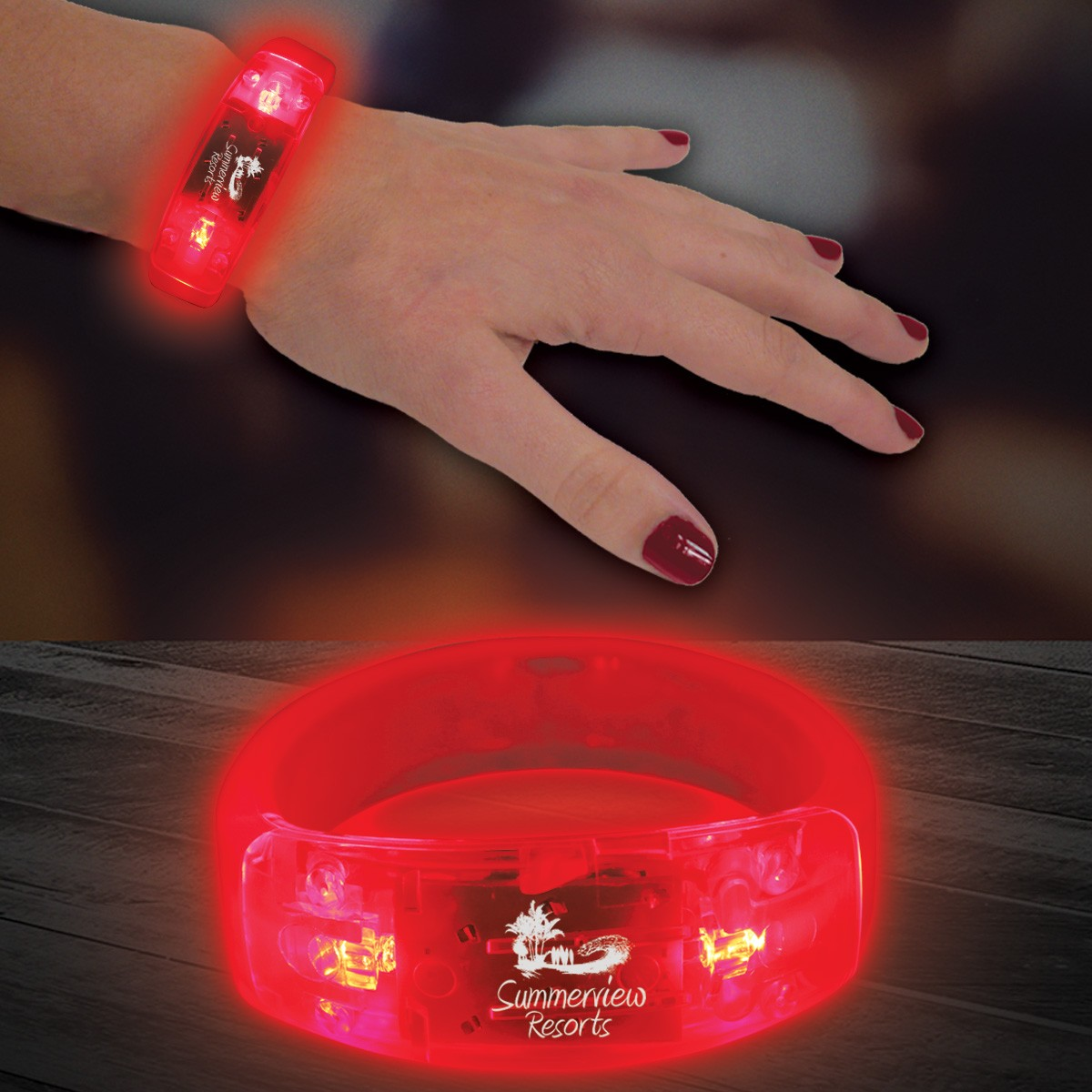 RED - LED BRACELET