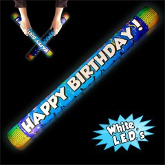 WHITE ILLUMI-TON WHAPPY BDAY