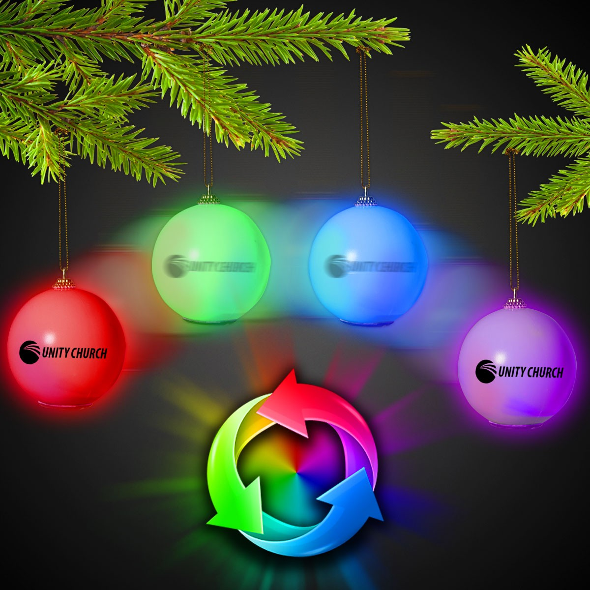 LED BALL ORNAMENT - MORPHING