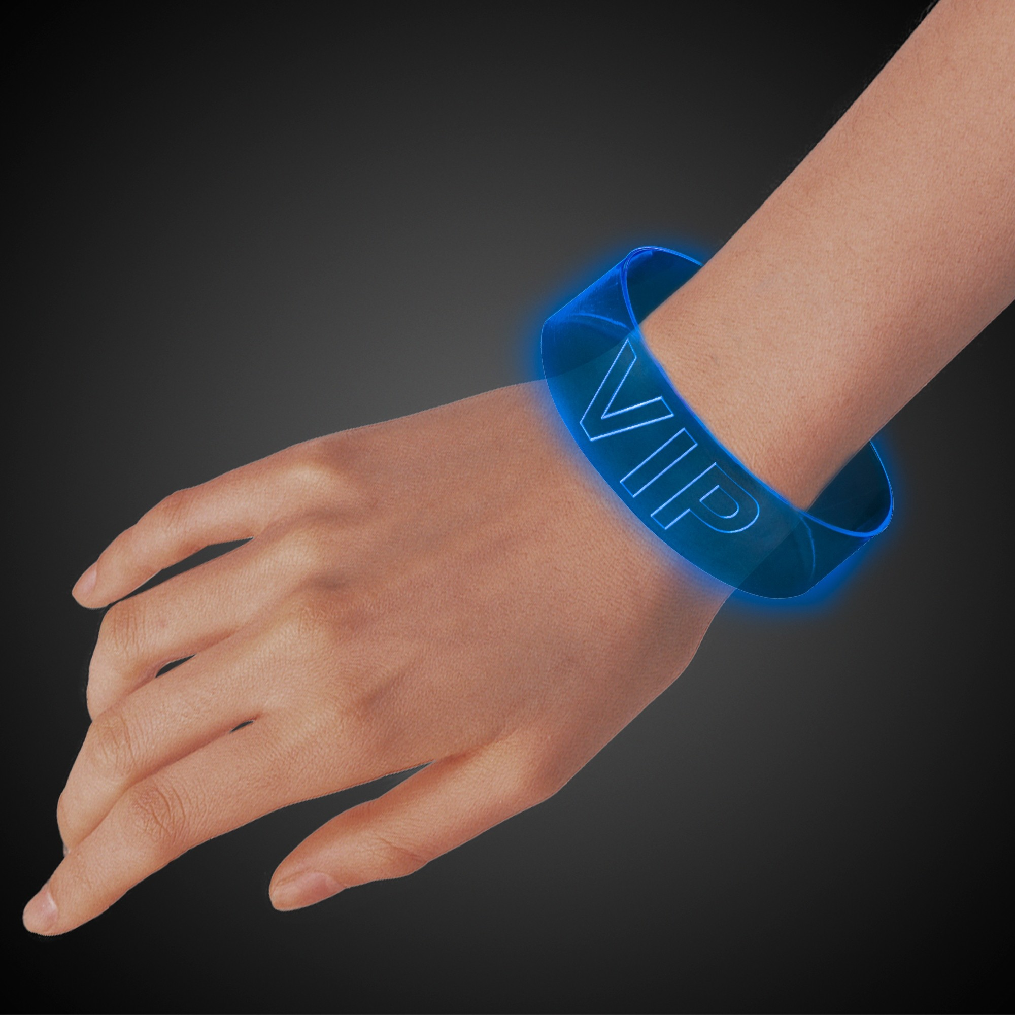 BLUE LED MAGNETIC BRACELET
