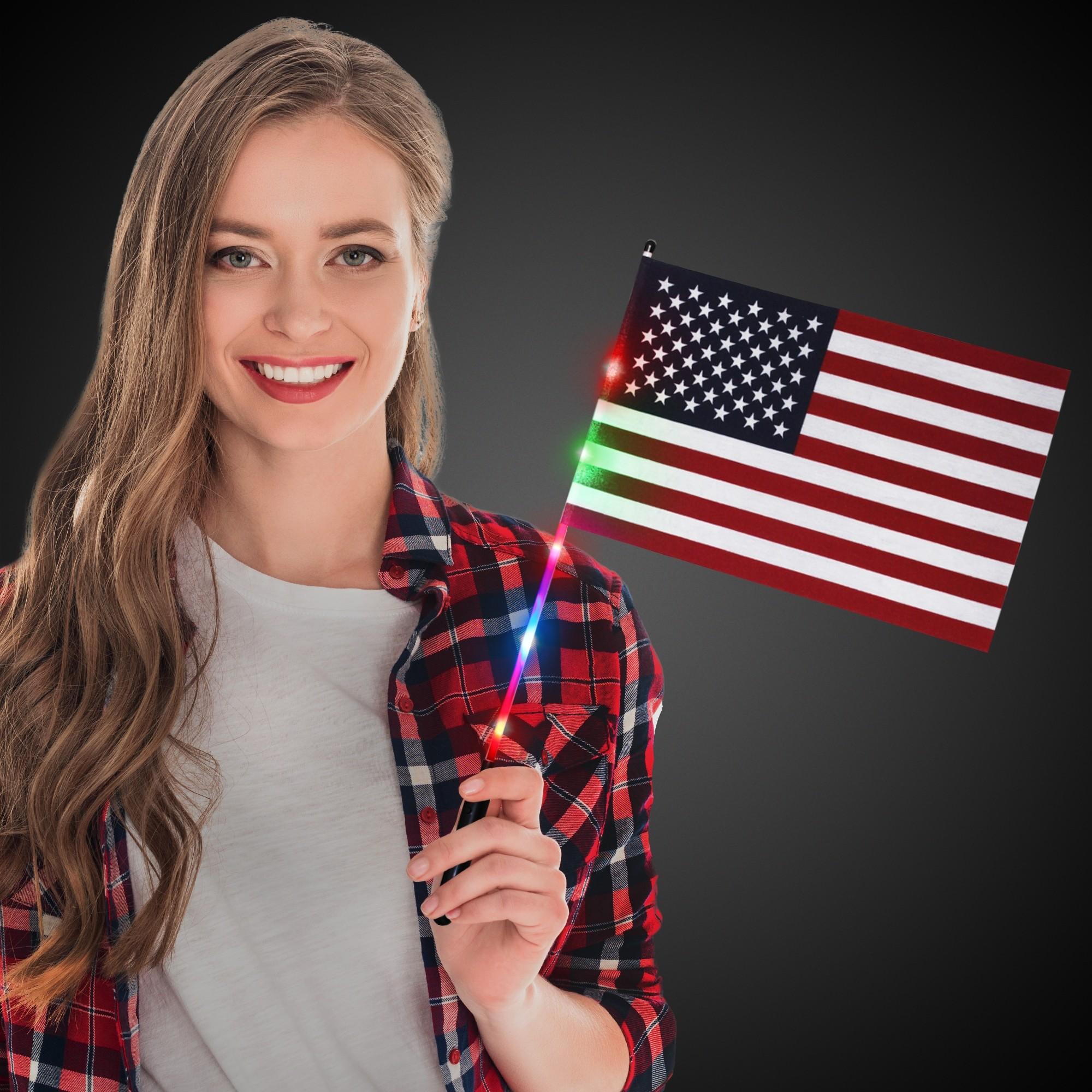 8X12 LU USA FLAG