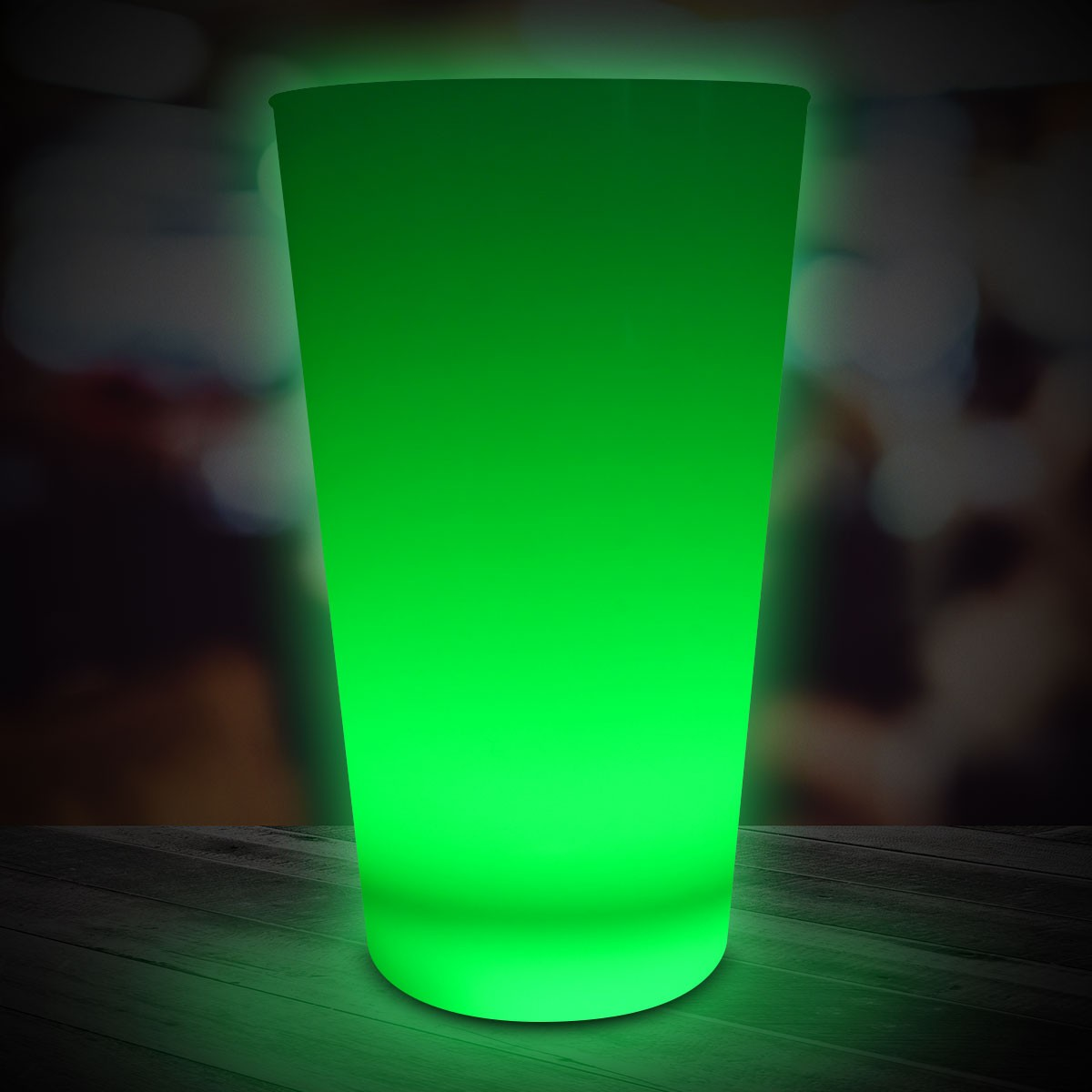 JADE 16OZNEON LOOK PINT GLASS
