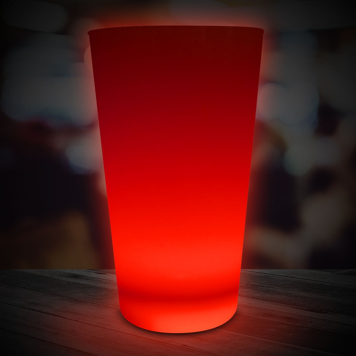 RED 16OZNEON LOOK PINT GLASS