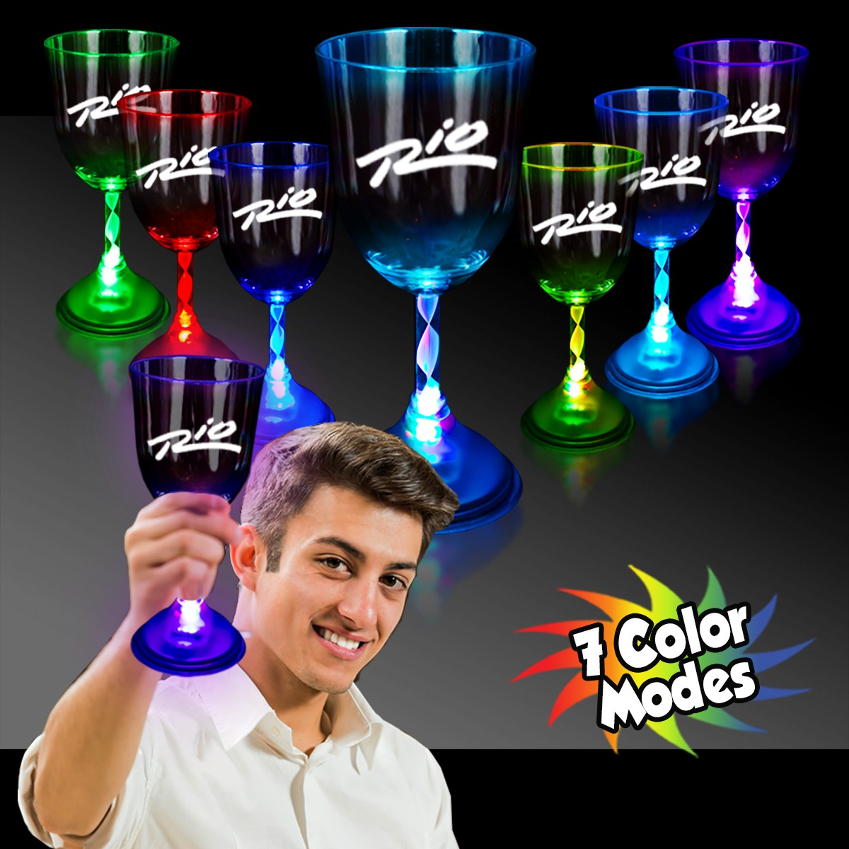WINE GLASS - 7 COLOR