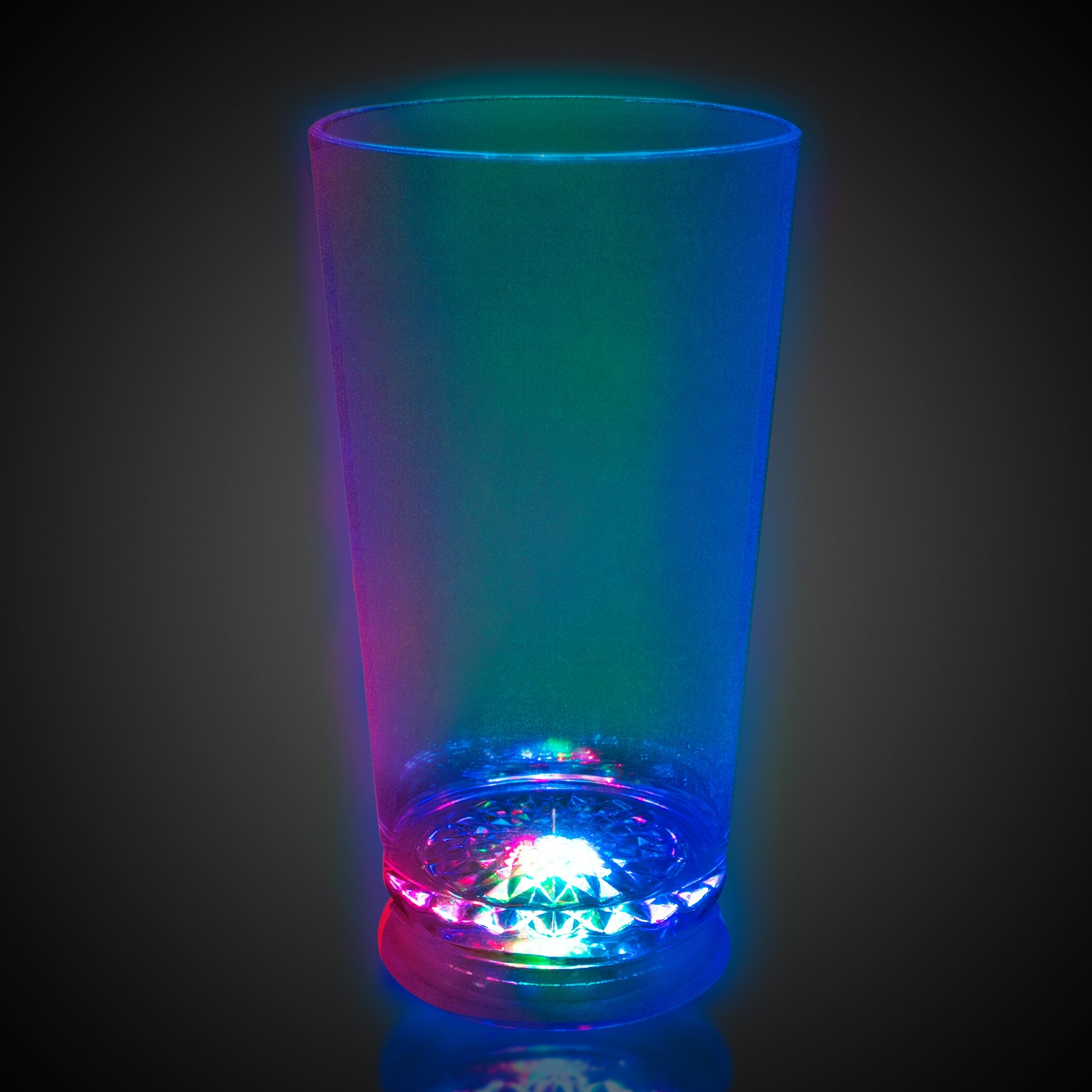LIGHT-UP 7COLOR PINT GLASS