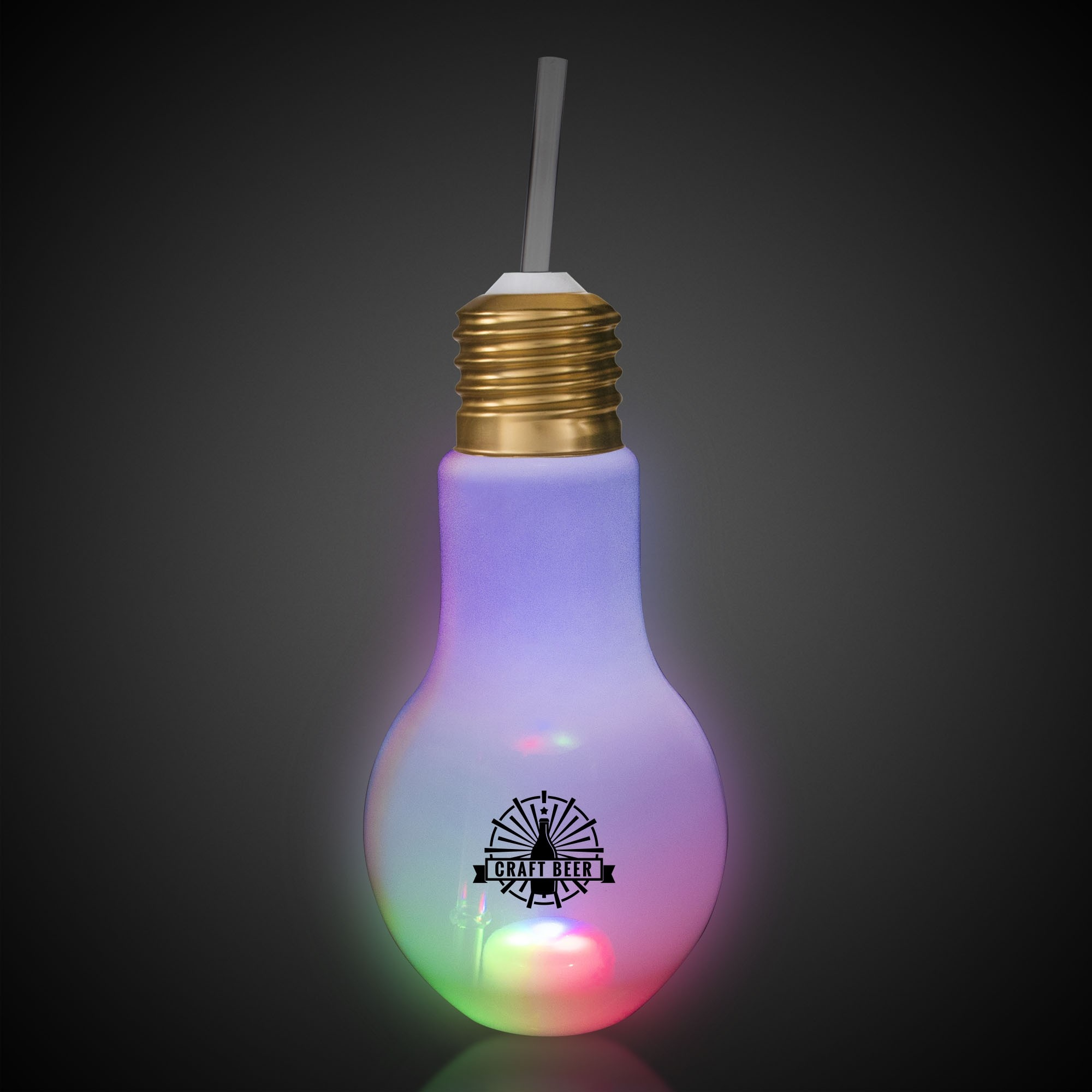 16OZTRANSLUCENT LIGHT BULB CUP