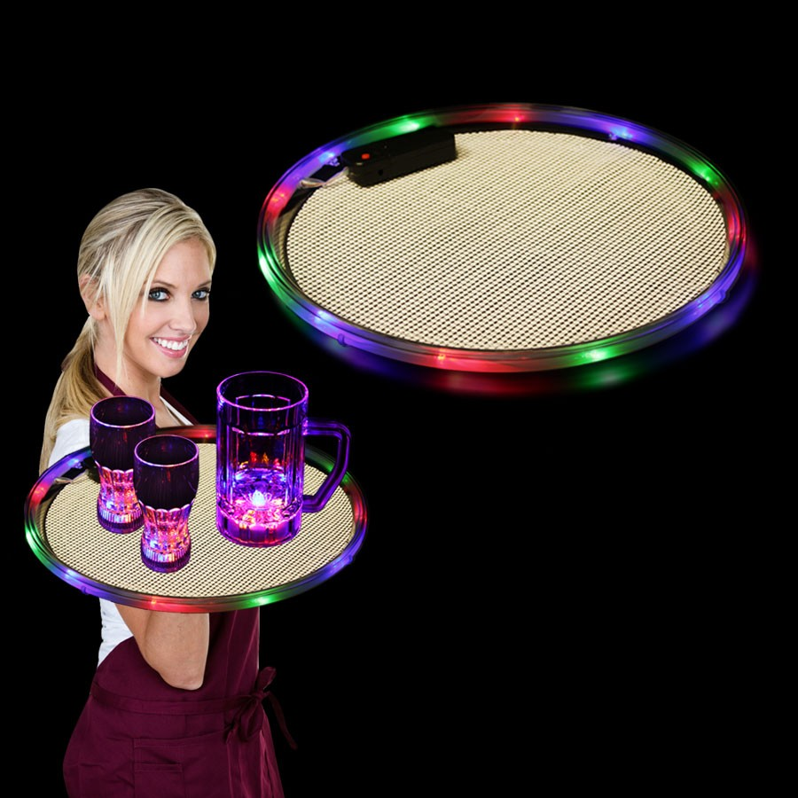 3 COLOR LED LITE UP SERVING