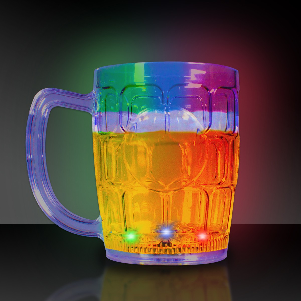LITE UP BEER MUG WFLASHING