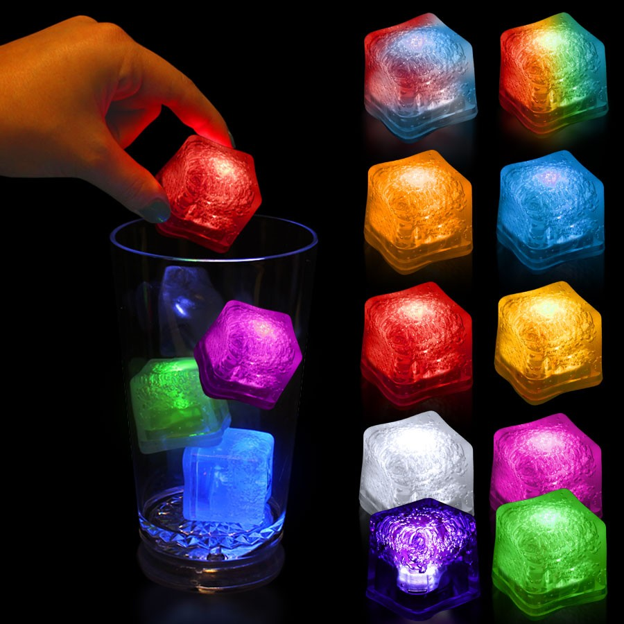 RED-LITED ICE PREMIUM CUBE