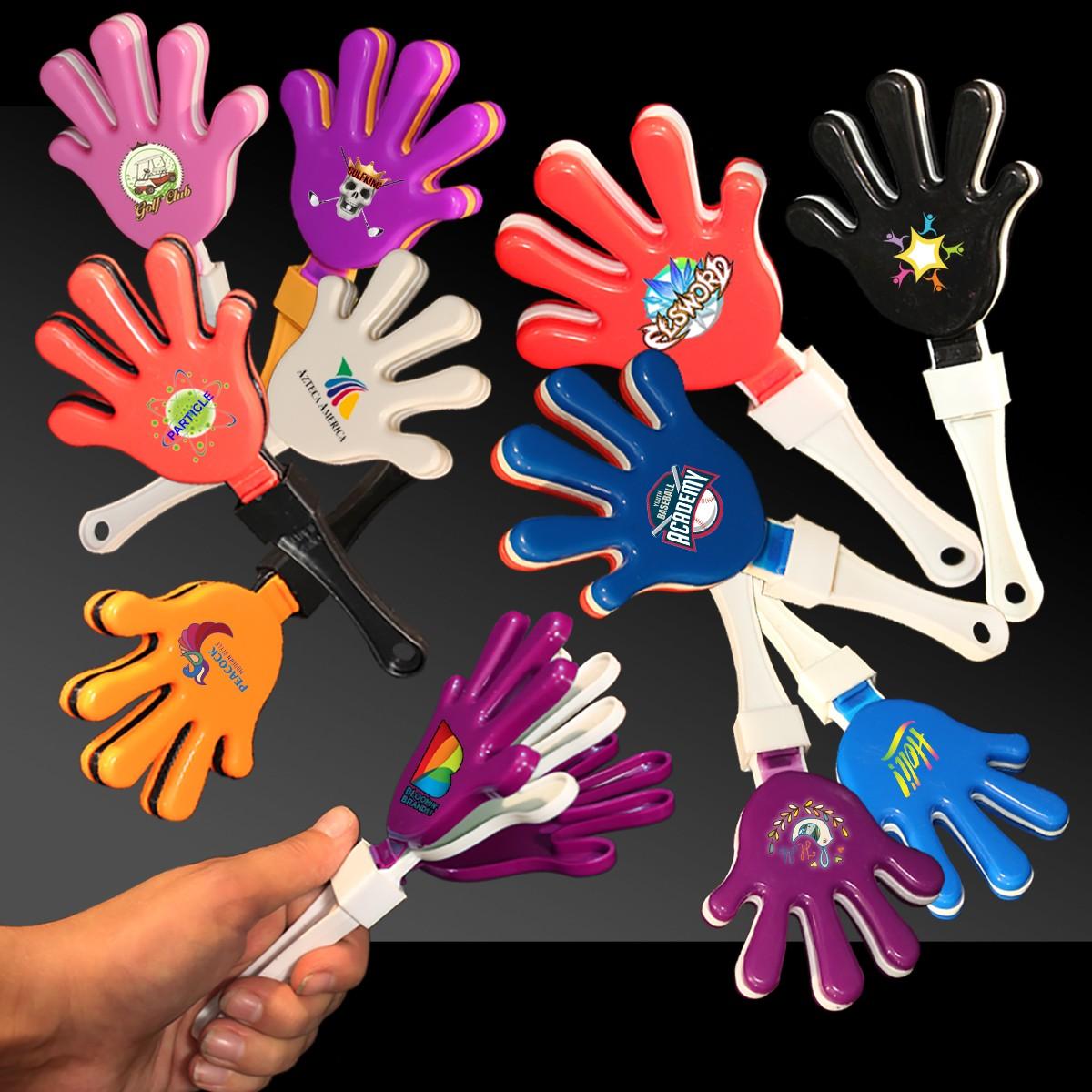 REDBLACKRED HAND CLAPPER
