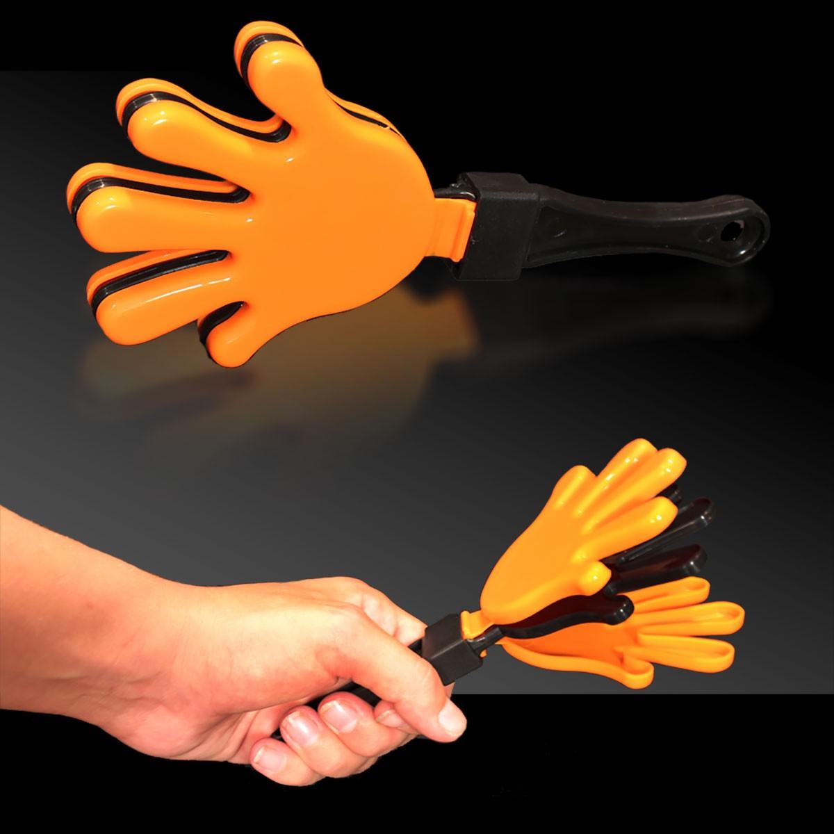 ORANGEBLKORANGE HAND CLAPPER