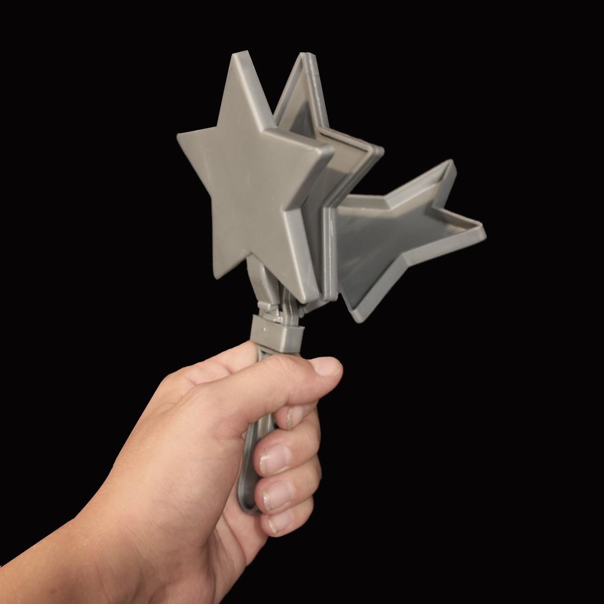 SILVER STAR CLAPPER