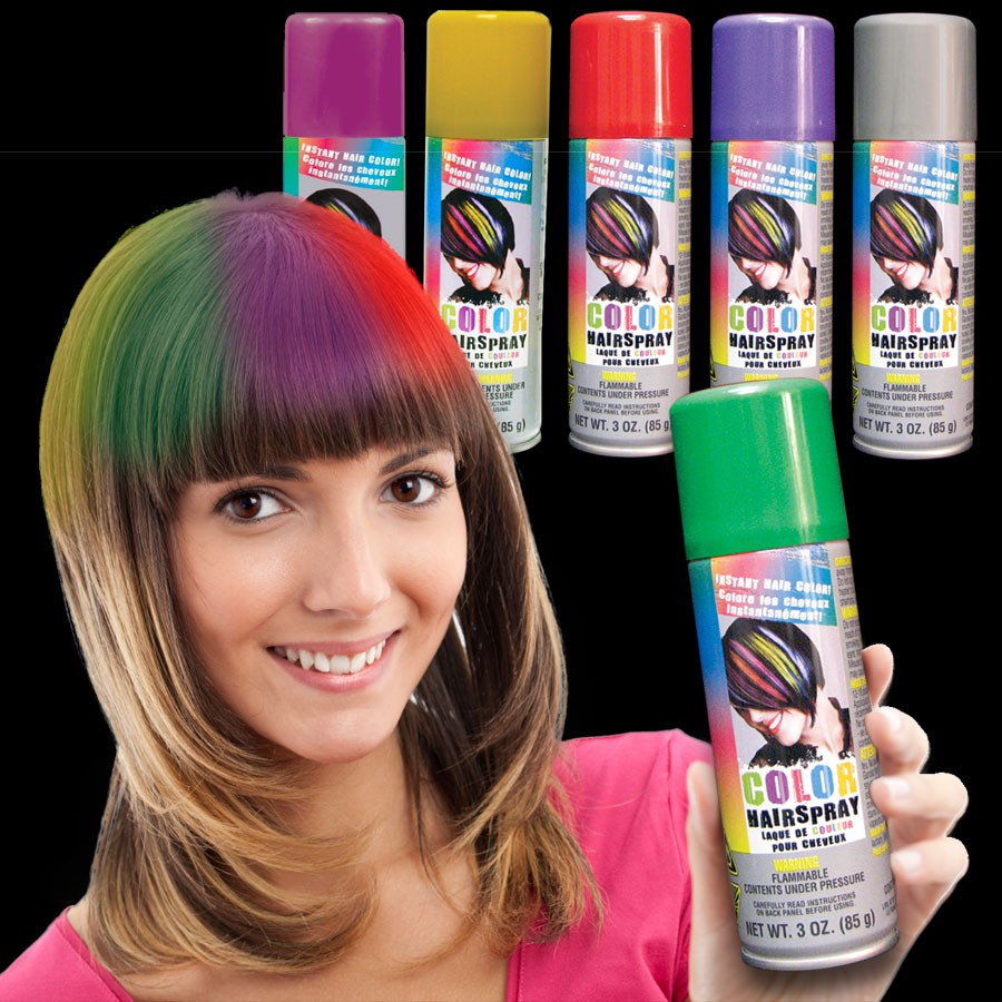 GREEN - 3 OZ. CAN HAIR SPRAY