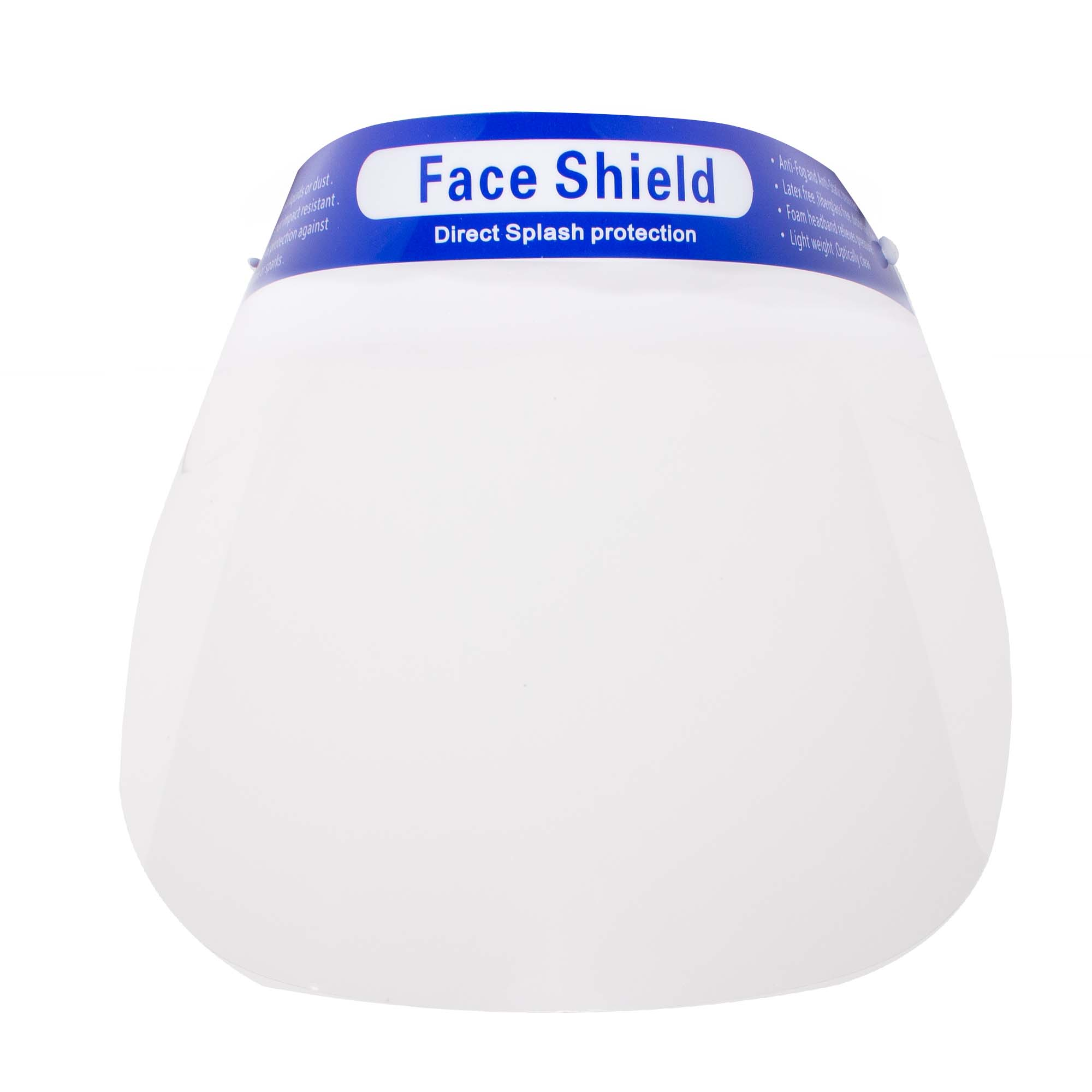 Splash Protection Face Shields