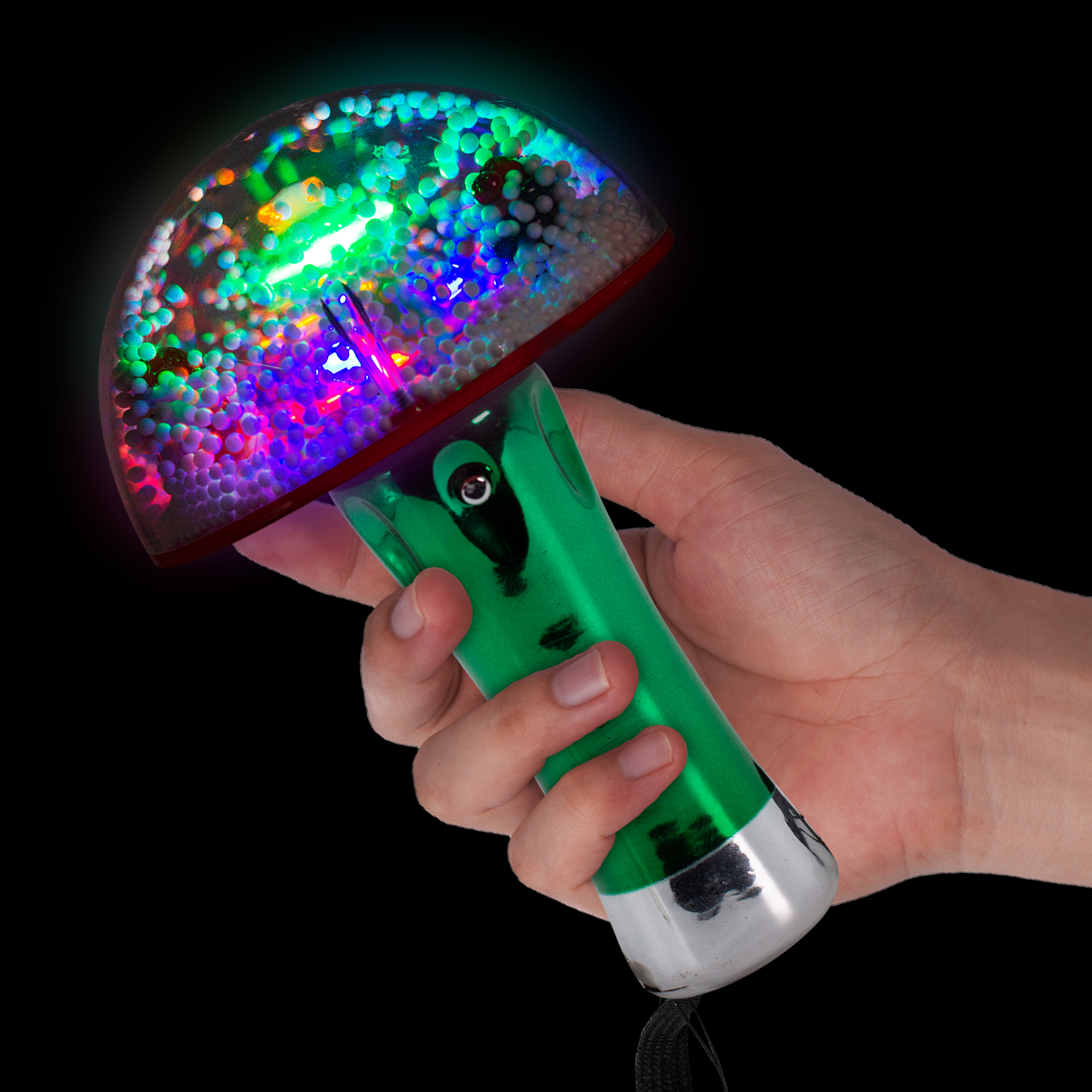 LED XMAS TREE SNOW GLOBE WAND