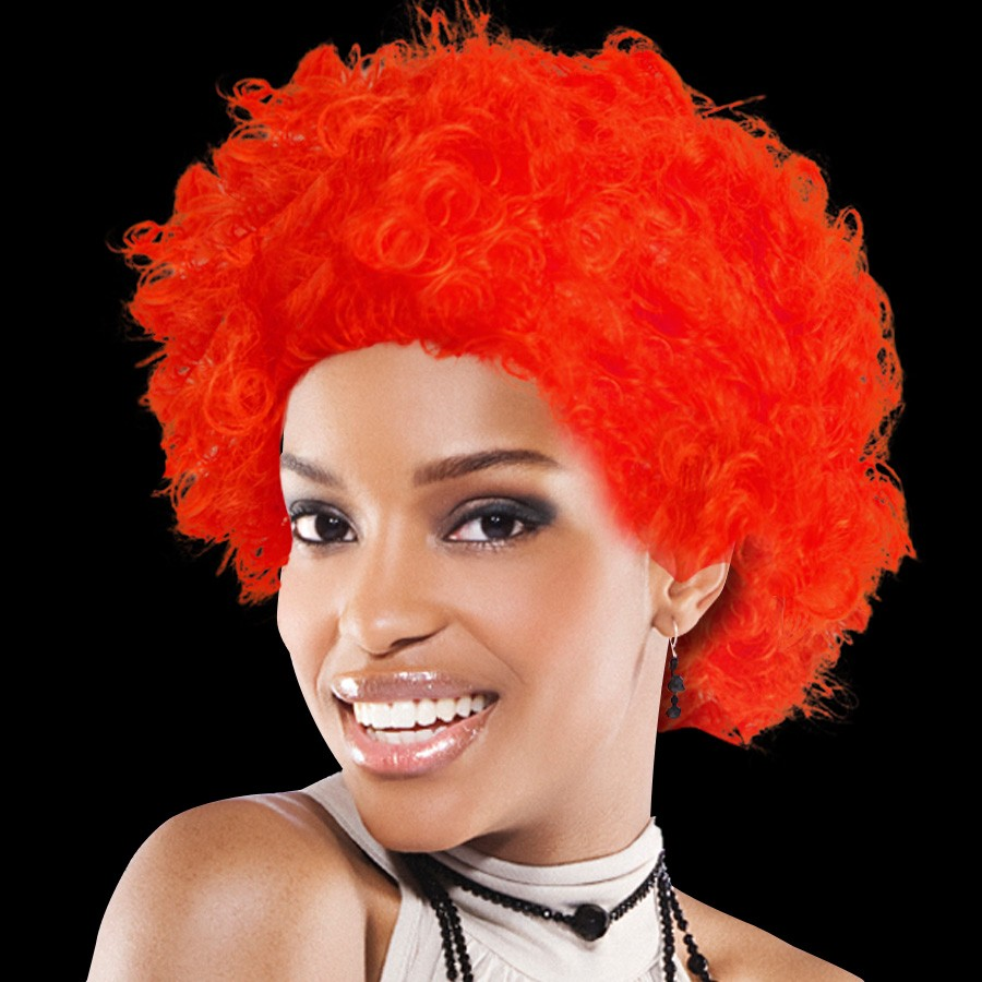TEAM SPIRIT WIG  RED