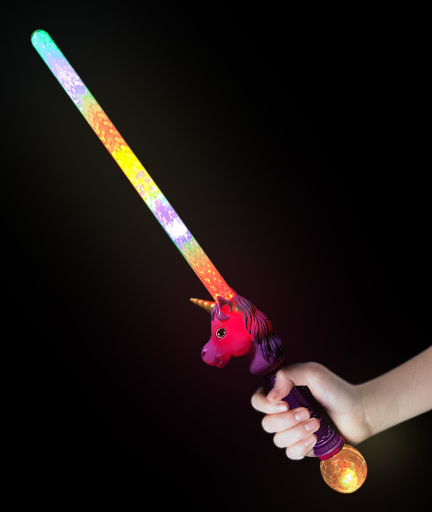 LED Unicorn Sword - Purple