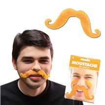 ORANGE HANDLE BAR MUSTACHE