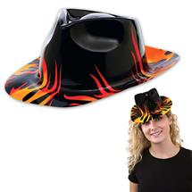 FLAME FEDORA HATS