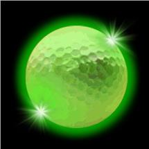 GREEN LED GOLFBALL WRETRIGGER