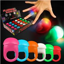 ASST. JELLY BUTTON RING WLEDS