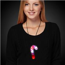CANDY CANE LU NECKLACE WBLCK