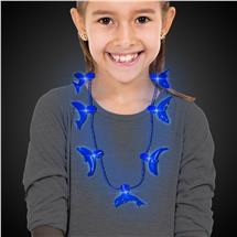 BLUE DOLPHIN LED NECKLACE