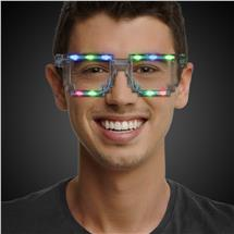 LED PIXEL SUNGLASSES - CLEAR