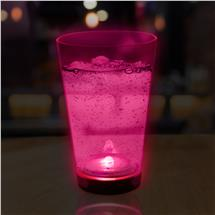 PINK - 12OZ NEON LU GLASS