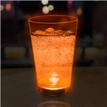 ORANGE - 12OZ NEON LU GLASS