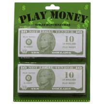 10 PLAY MONEY