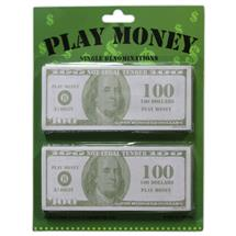 100 PLAY MONEY
