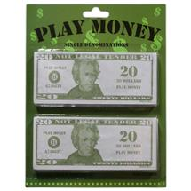 20 PLAY MONEY